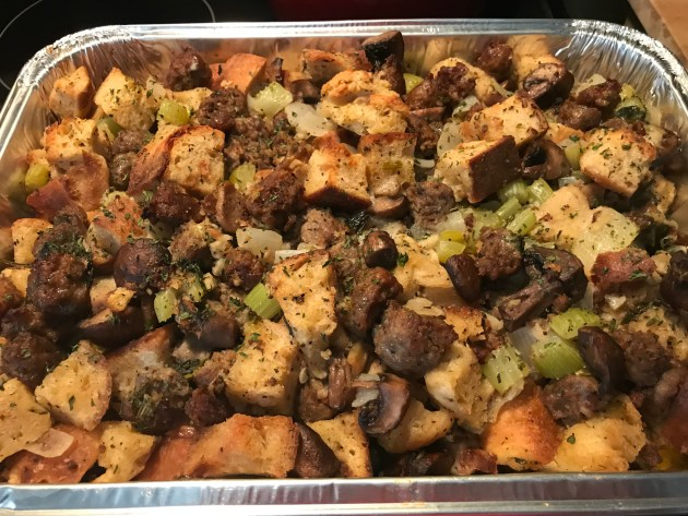 Sweet And Hot Italian Sausage Stuffing (3)