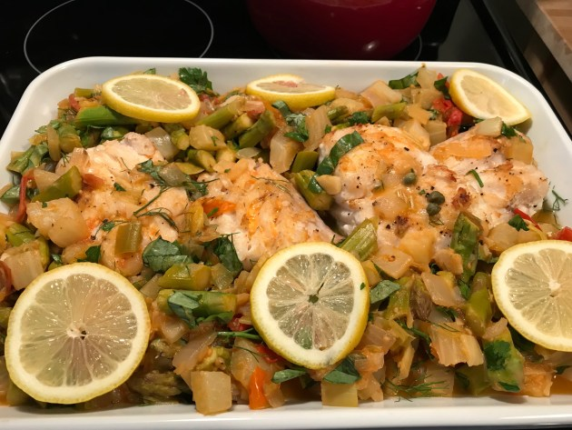 Provencal Style Grouper (2)