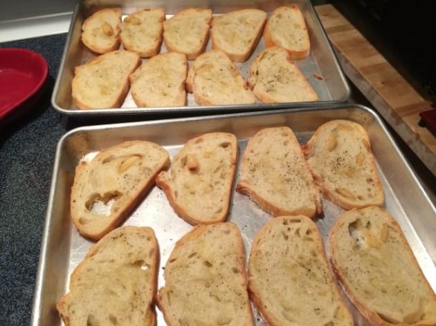Toasted Ciabatta Bread