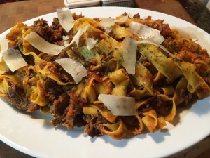 Beef Short Rib Ragu With Pappardelle
