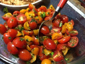 Grape Tomato Salad