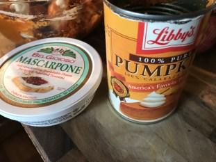 Mascarpone And Pumpkin Puree