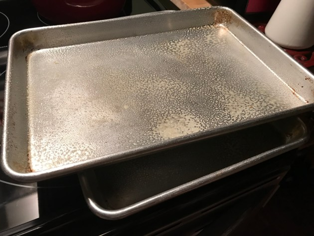 2 Rimmed Baking Sheet Pans