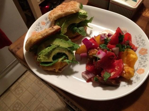 Jumbo-Style Heirloom Tomato Salad