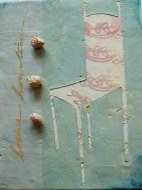 Encaustic Caveo Relievo Chair-Linda Lenart McNulty