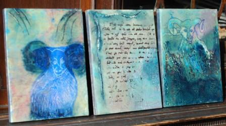 Encaustic Paintings-Linda Lenart McNulty
