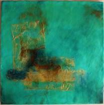 Encaustic Wabi Sabi 4 - Linda Lenart McNulty (635x640)