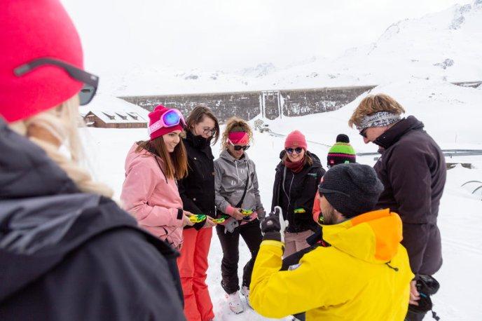 Skitouren-Schnuppertag mit Linda Meixner (c) Andreas Haller - Montafon Tourismus GmbH (13)
