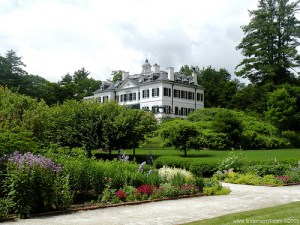 Edith Wharton walked these grounds