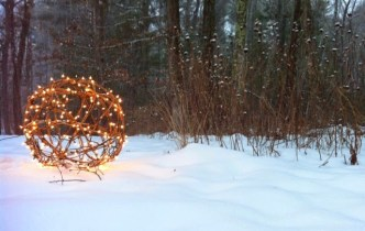 DIY It: Making a gorgeous lawn ornament for the holidays