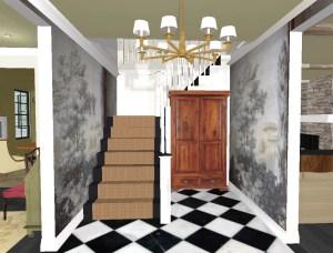 Linda's Dream House: Making An Entrance