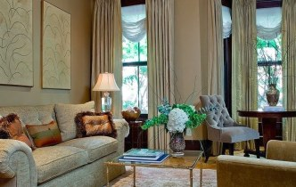 Project Replay: Boston Townhouse Living Room
