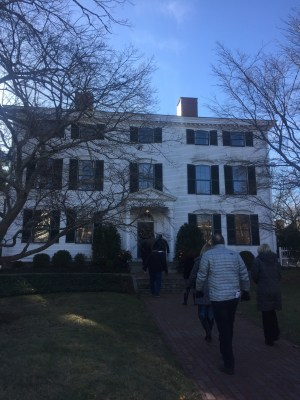 Christmas cheer, decorating and amazing architecture in Newburyport, MA