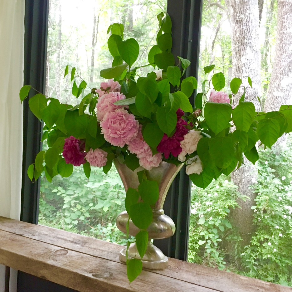 Just Right Farm Plympton MA  kallista floral arrangement