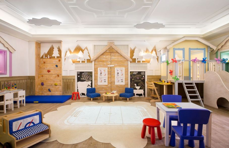 Cristallo Resort hotel kids play room
