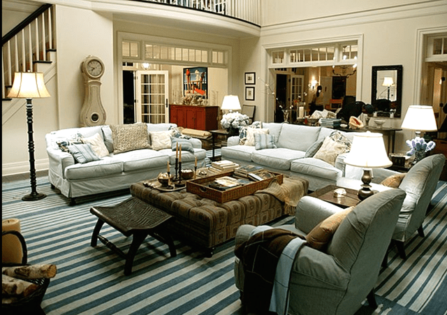 Something's Gotta Give movie living room set