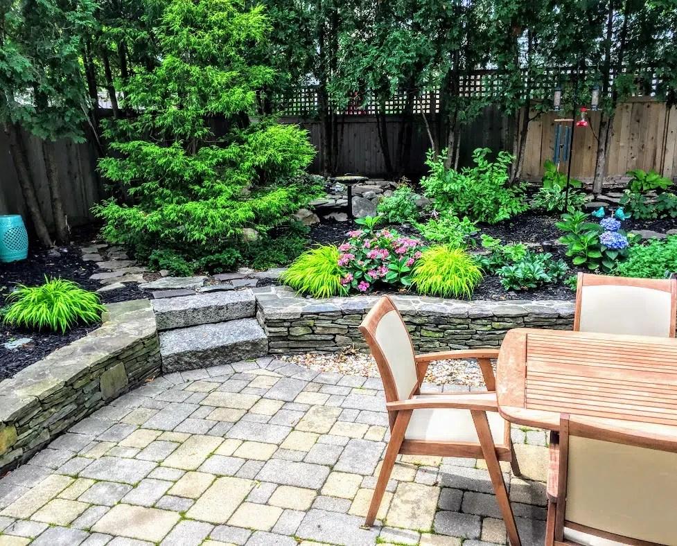 Backyard garden Newburyport ma