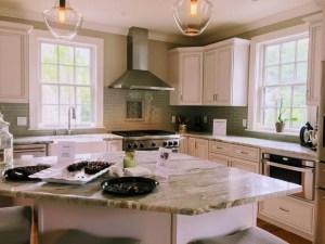 2017 Newburyport Kitchen Tour,  Pt. 1 and the case of the missing design element.