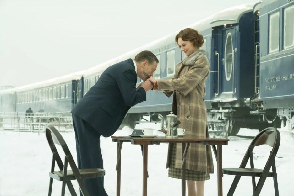 Murder on the Orient Express 2017 movie Kenneth Branagh Hercule Poirot Daisey Ridley