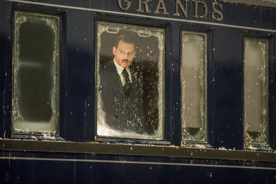 Murder on the Orient Express 2017 movie Johnny Depp