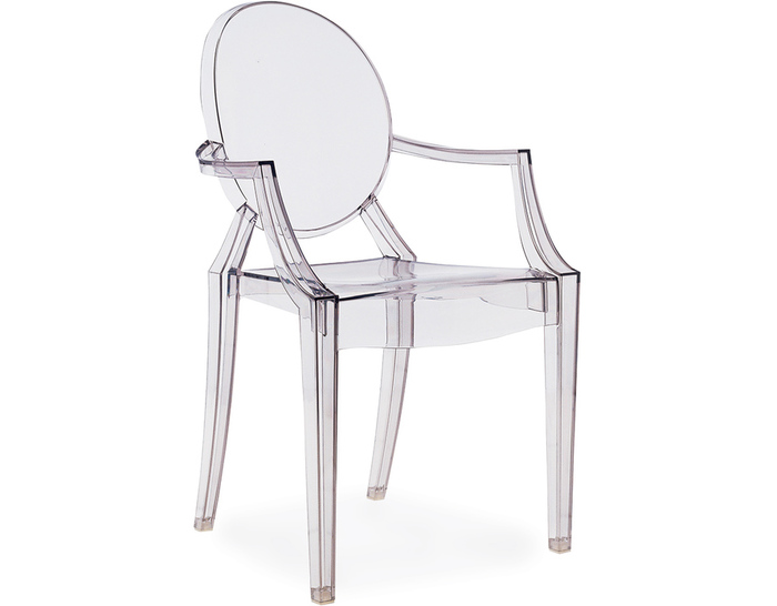 Phillip Starck Louis Ghost Chair from Kartell