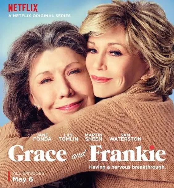 Grace & Frankie besties poster Lily Tomlin Jane Fonda