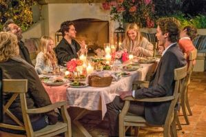 Outdoor Dining Home Again Reese Witherspoon Michael Sheen