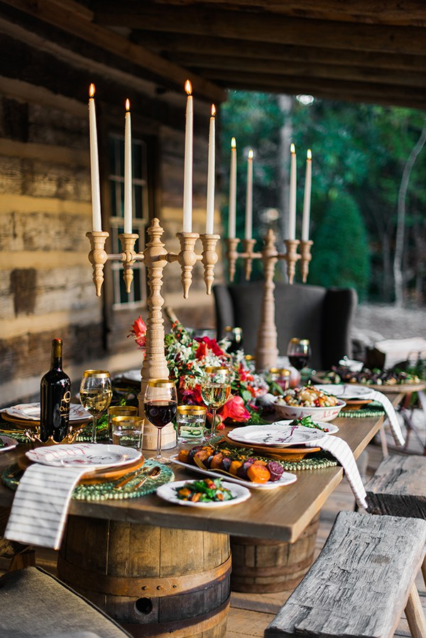 Outdoor Dining Rue Magazine Rustic White Waiting on Martha