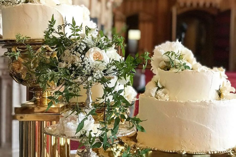 4 Royal wedding cake claire ptak meghan and harry wedding reception