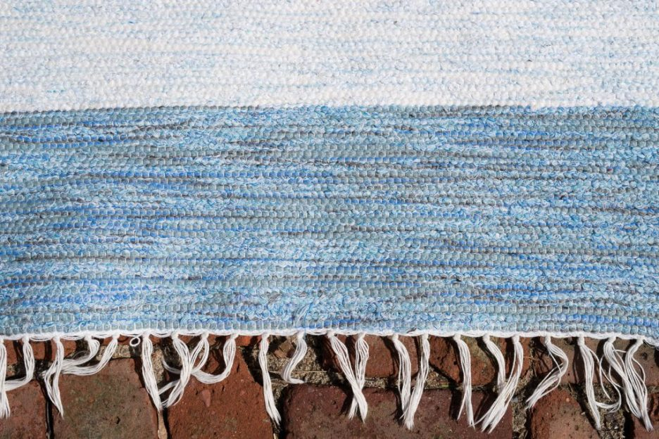 The Hampton Rug The Coastal Collection blue