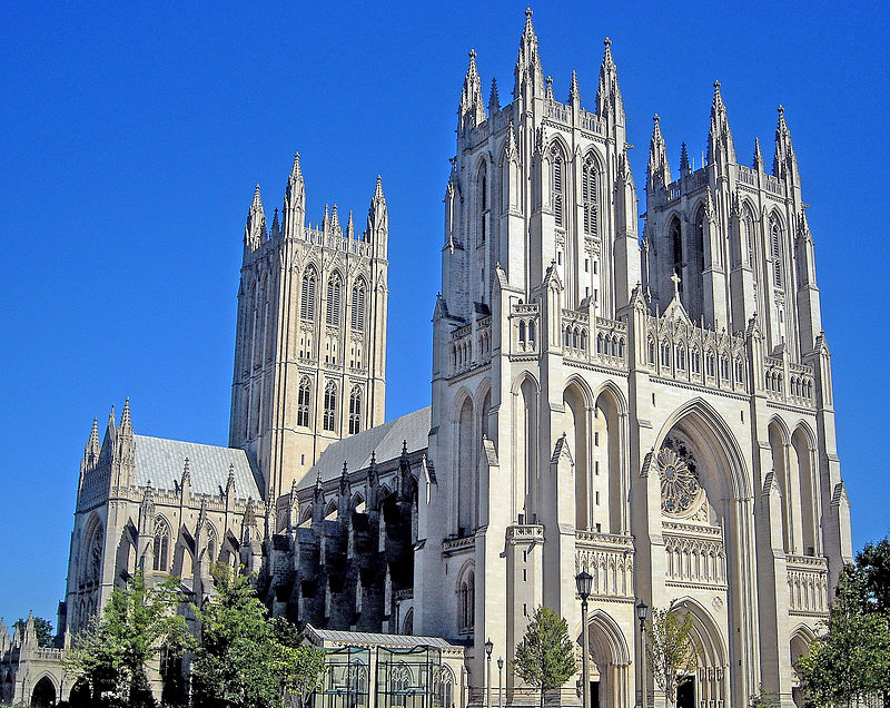 Gothic Revial Washington_National_Cathedral_in_Washington, Met Gala