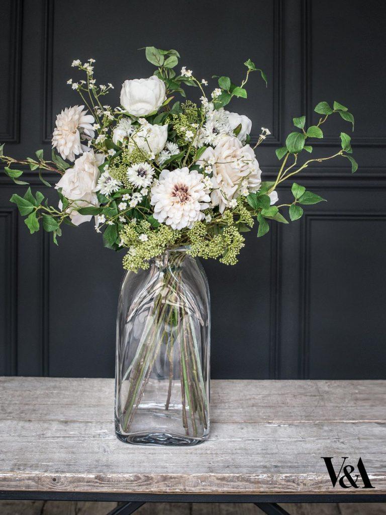 Phillipa Craddock faux florals royal wedding reception