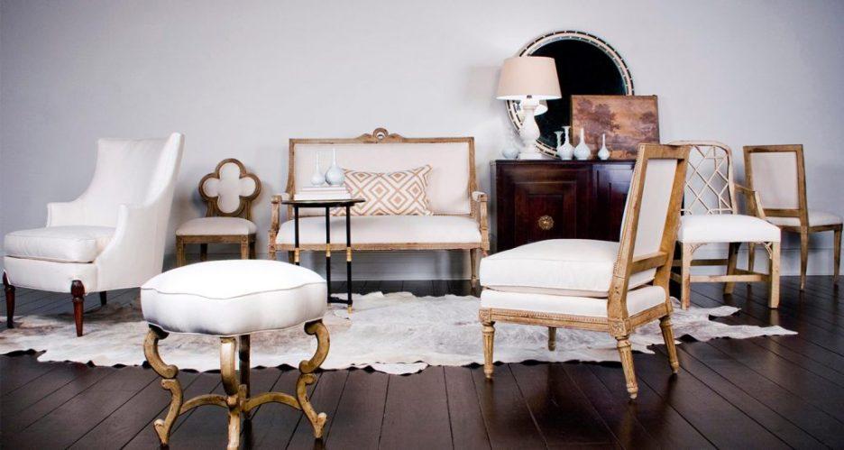Suzanne Kasler Hickory Chair furniture on Linda Merrill blog