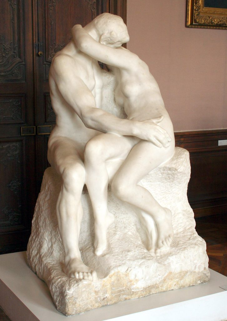 Travel Tuesday Rodin The Kiss Power of Observing