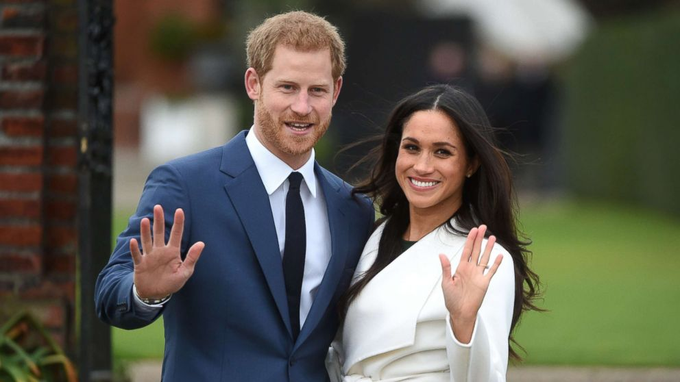 harry and meghan Royal Wedding engagement photo