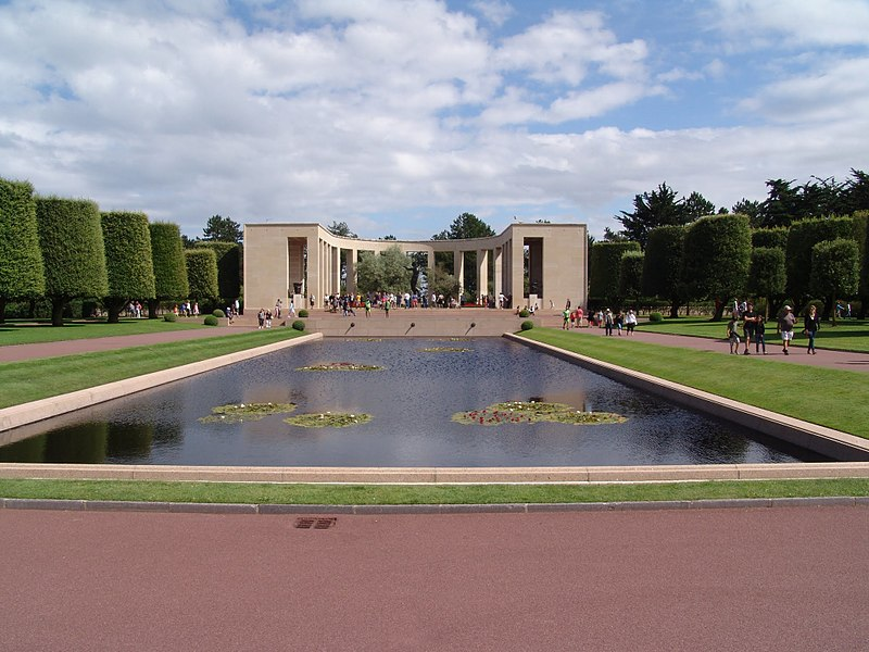 Travel Tuesday American Cemetery Normandy Leon petrosyan power of observing