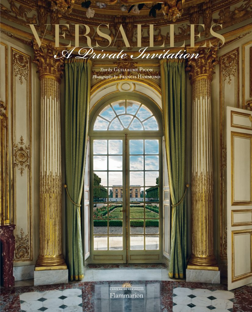 Versailles Private Invitation cover Linda Merrill blog versailles grand designs