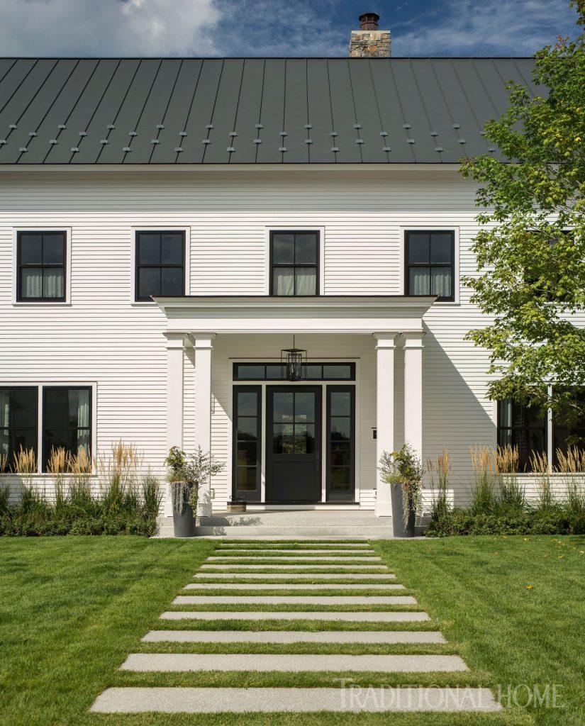 Vermont Farmhouse Fantasy Lee Grutchfield Architect Traditional Home Exterior White House