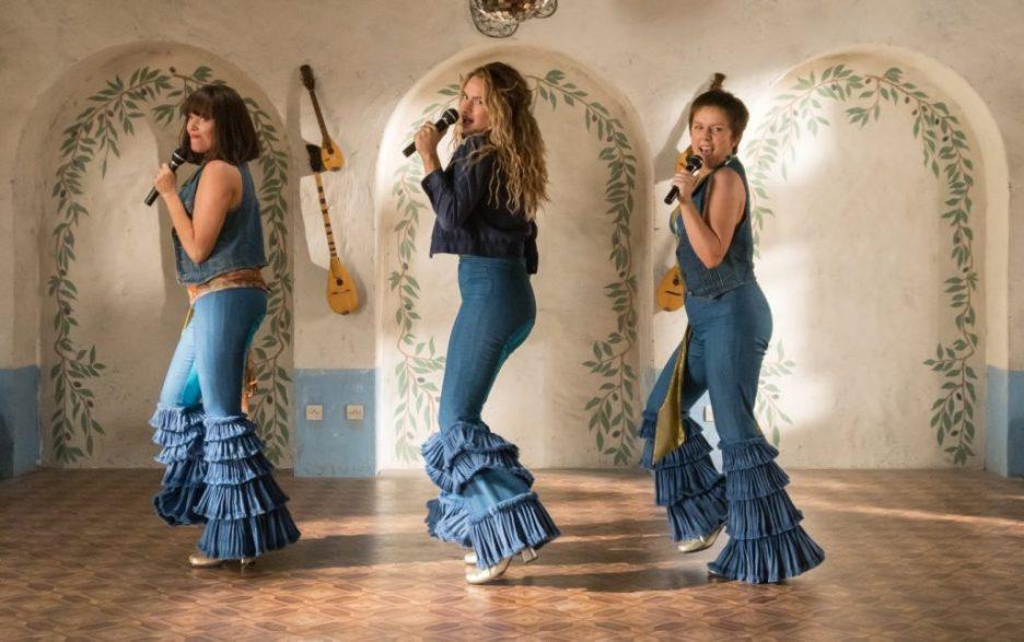 Mamma Mia Here We Go Again flashback movie set Lily James