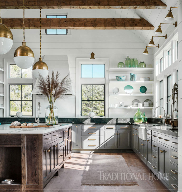 Traditional Home Lillian August Interiors Vermont Farm House