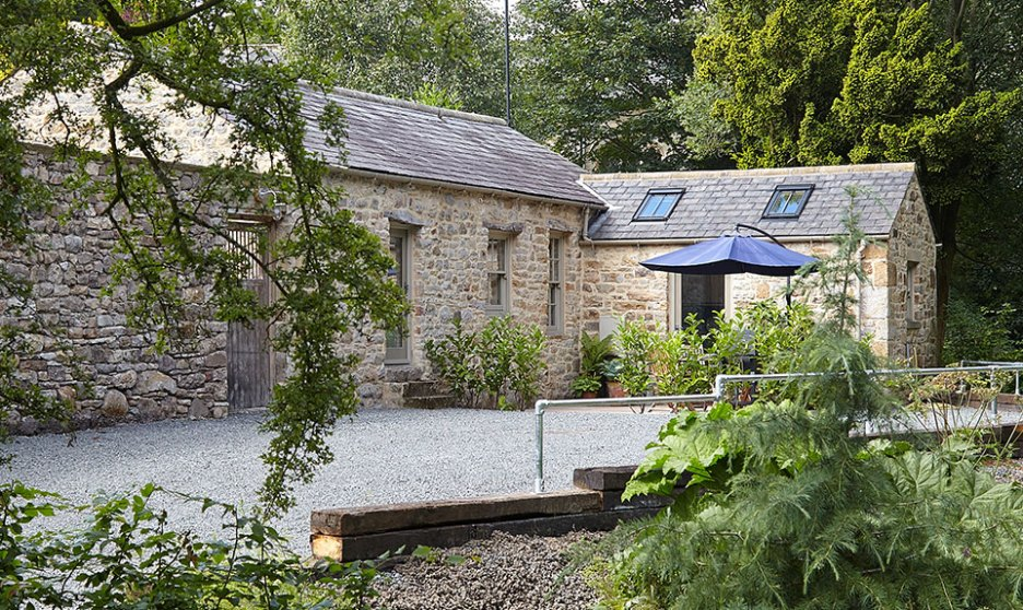 Joiner's Shop The Bastle stone cottage Photography David Webb Exterior2