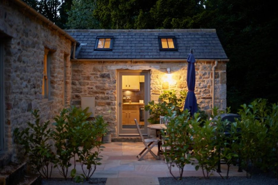 Joiner's Shop The Bastle stone cottage Photography David Webb exterior
