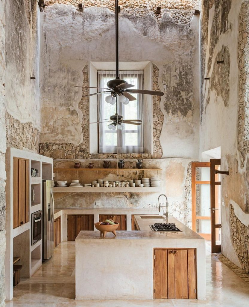 Rustic Kitchen Design - How much is too much? - Linda Merrill
