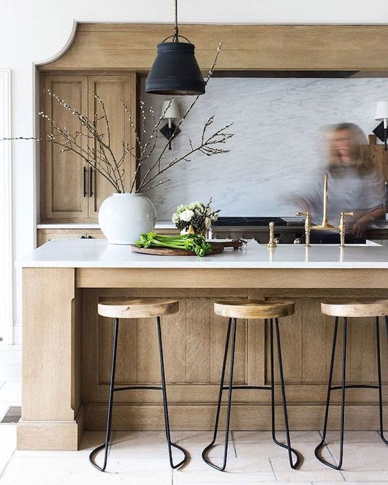 Dana Wolter Interiors Rustic Kitchen 1