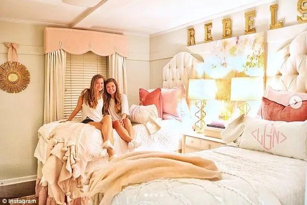 Lindy Goodson Ole Miss dorm chic