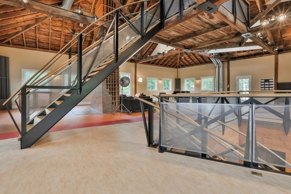 Newburyport modern carriage house conversion Andrew Sidford Architect interior 5