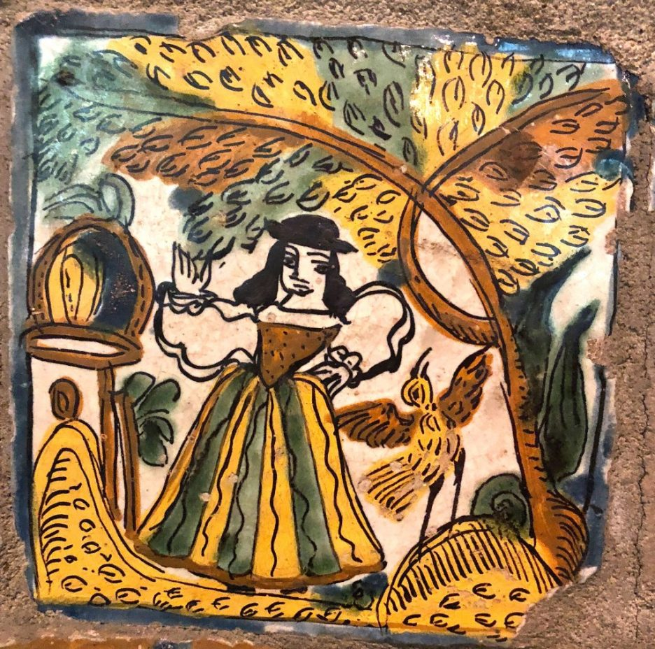 Linda Merrill Staycation Isabella Stewart Gardner museum Spanish wall tiles 2