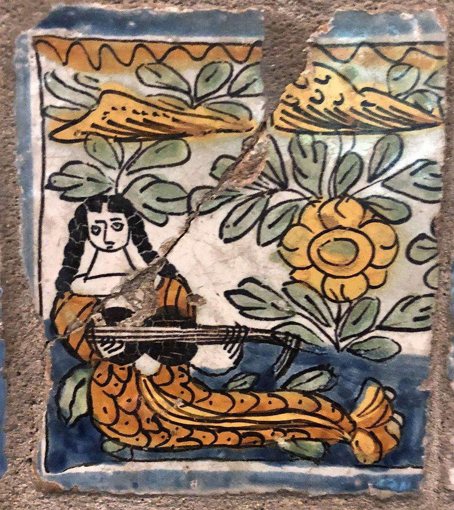 Linda Merrill Staycation Isabella Stewart Gardner museum Spanish wall tiles 3