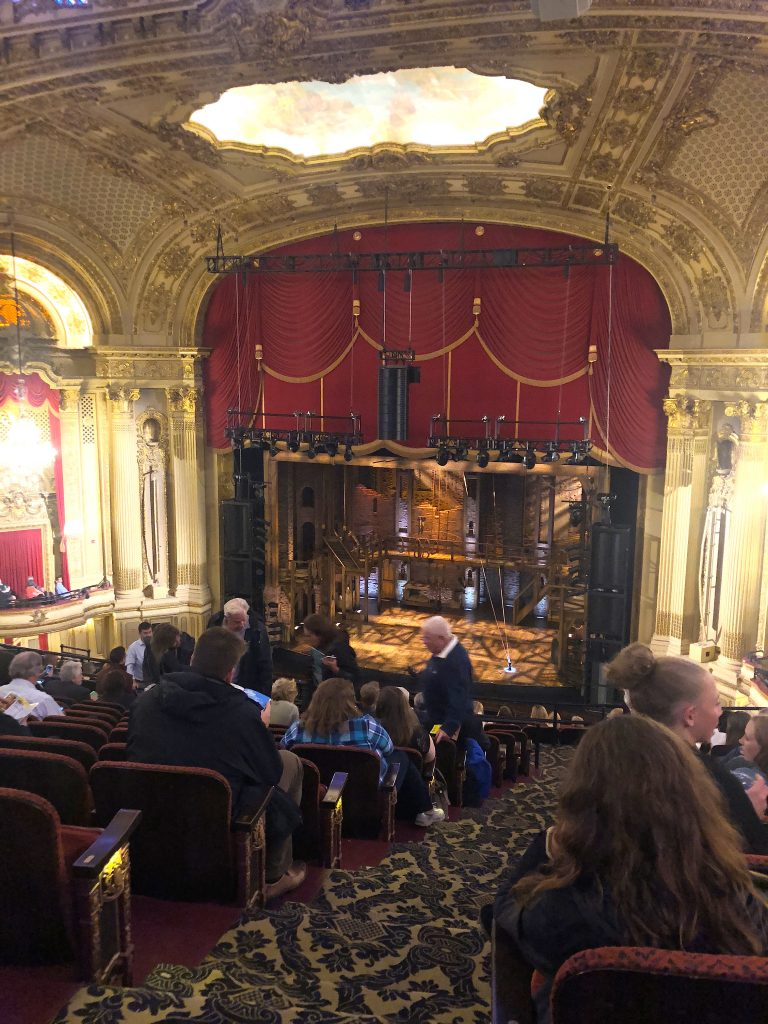 Linda Merrill staycation Boston Opera House Hamilton