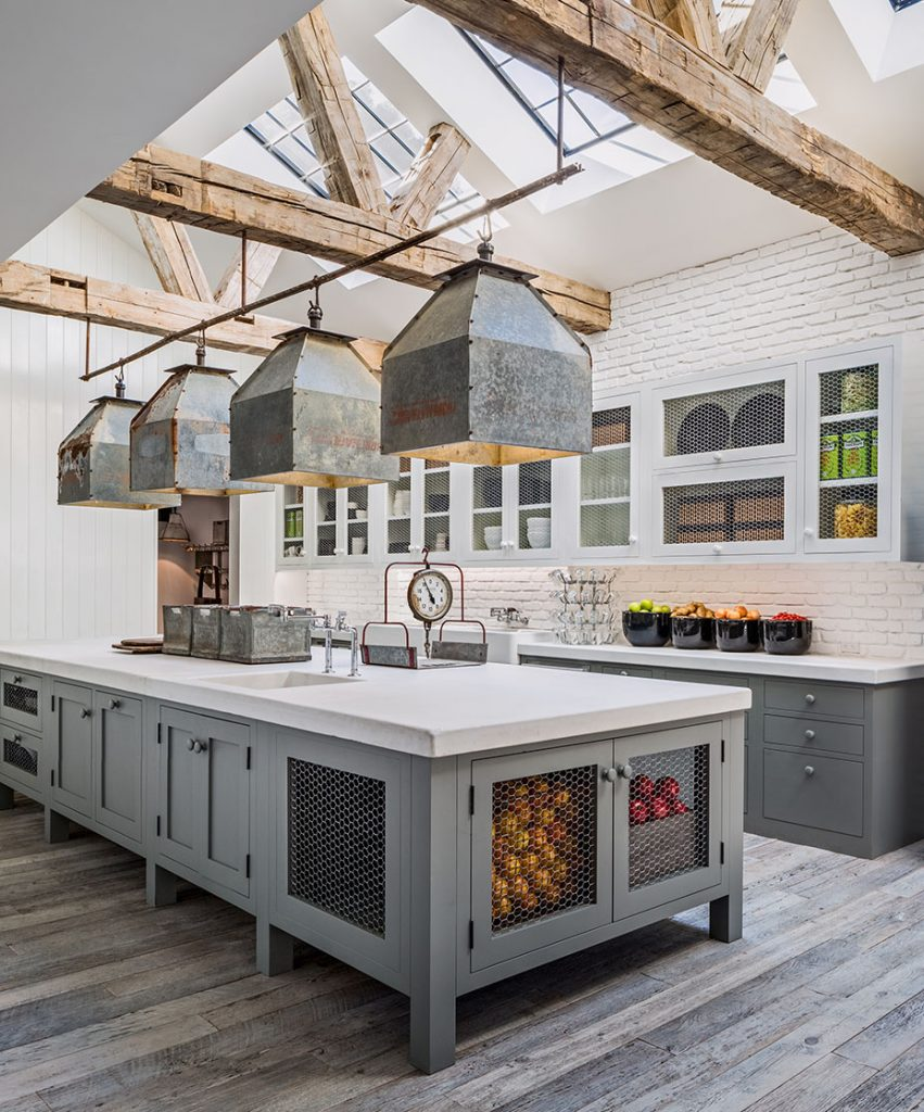 Kitchen in Diane Keaton home, for the book The House that Pintrerest Built